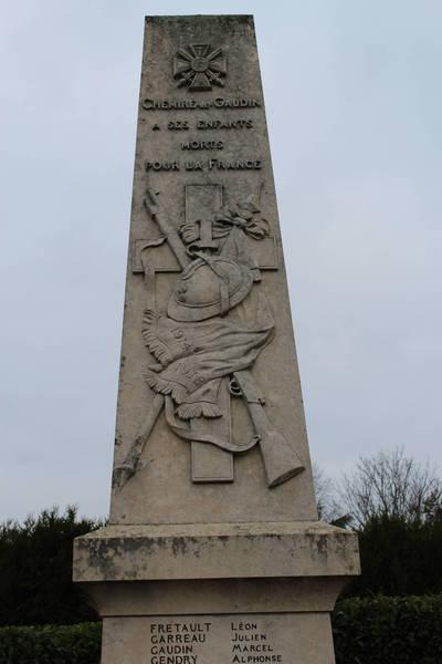 Chemiré le Gaudin - Monument commémoratif - A ses enfants morts pour la France - Vue 01