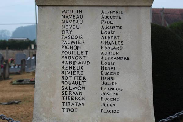 Chemiré le Gaudin - Monument commémoratif - A ses enfants morts pour la France - Vue 03