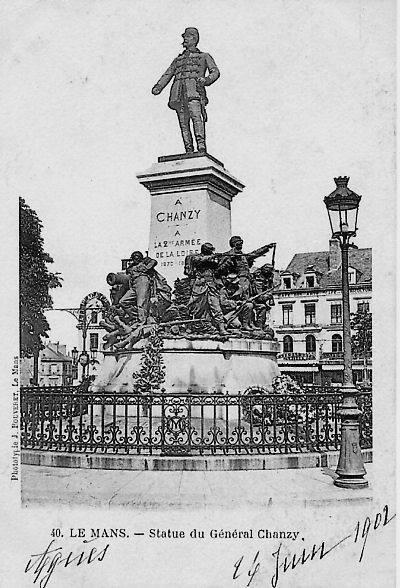 Le Mans - Statue - Statue du Général Chanzy
