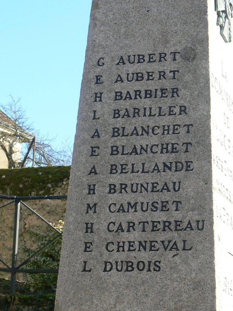 Luceau - Monument commémoratif - La commune de Luceau à ses enfants morts pour la France 1914-1918 - Vue 03 (Chantale Vieux)