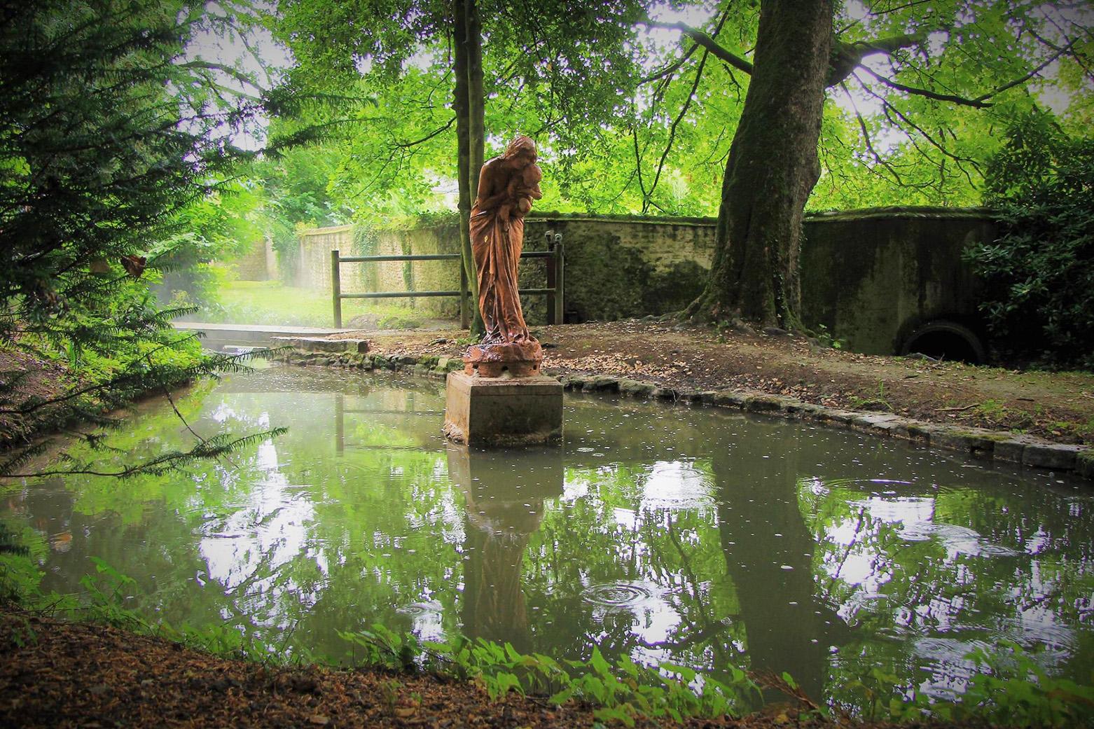 Mamers - Statue - Le parc Jaillé