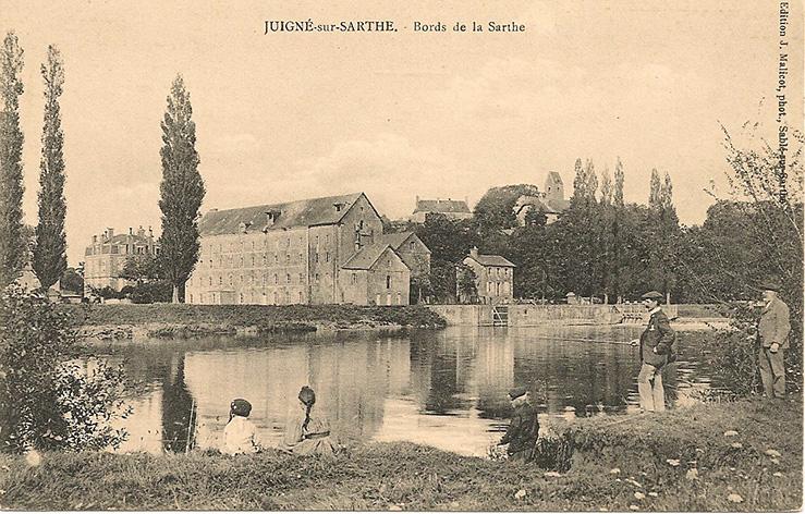 Juigné sur Sarthe - Bords de la Sarthe