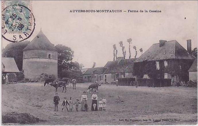 Auvers sous Montfaucon - Ferme de la Cassine