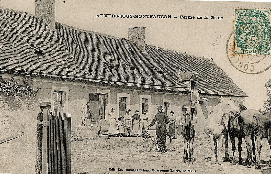 Auvers sous Montfaucon - Ferme de la Groie