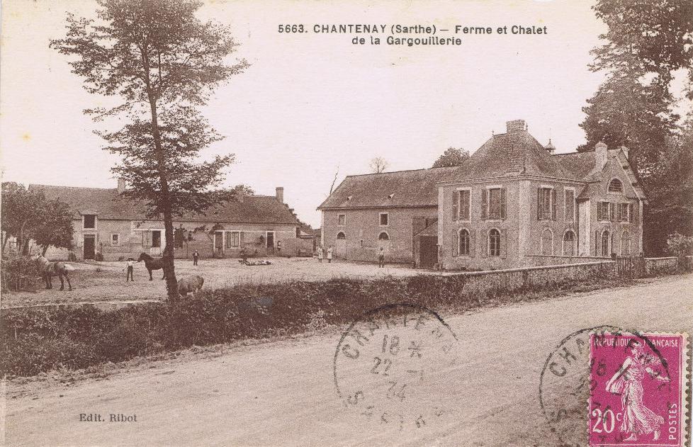 Chantenay - Ferme et Chalet de la Gargouillerie