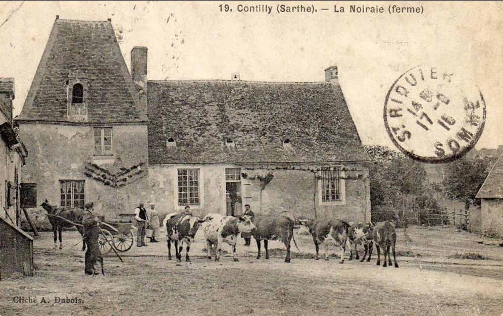 Contilly - La Noiraie (ferme)