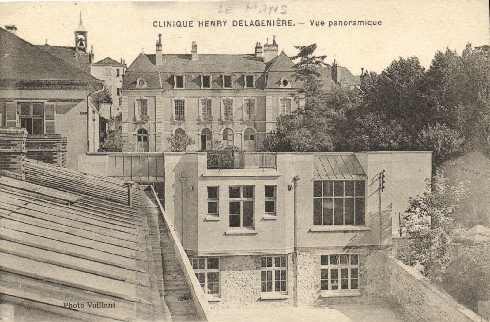 Le Mans - Clinique Henry Delagenière - Vue panoramique