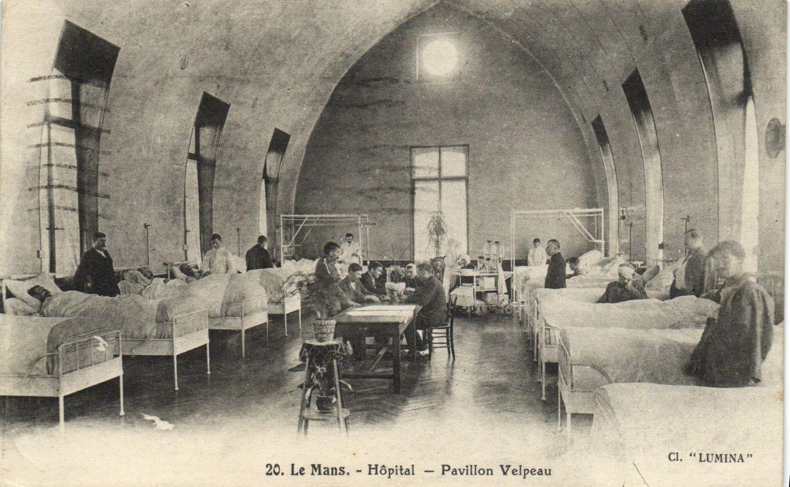 Le Mans - Hôpital - Pavillon Velpeau