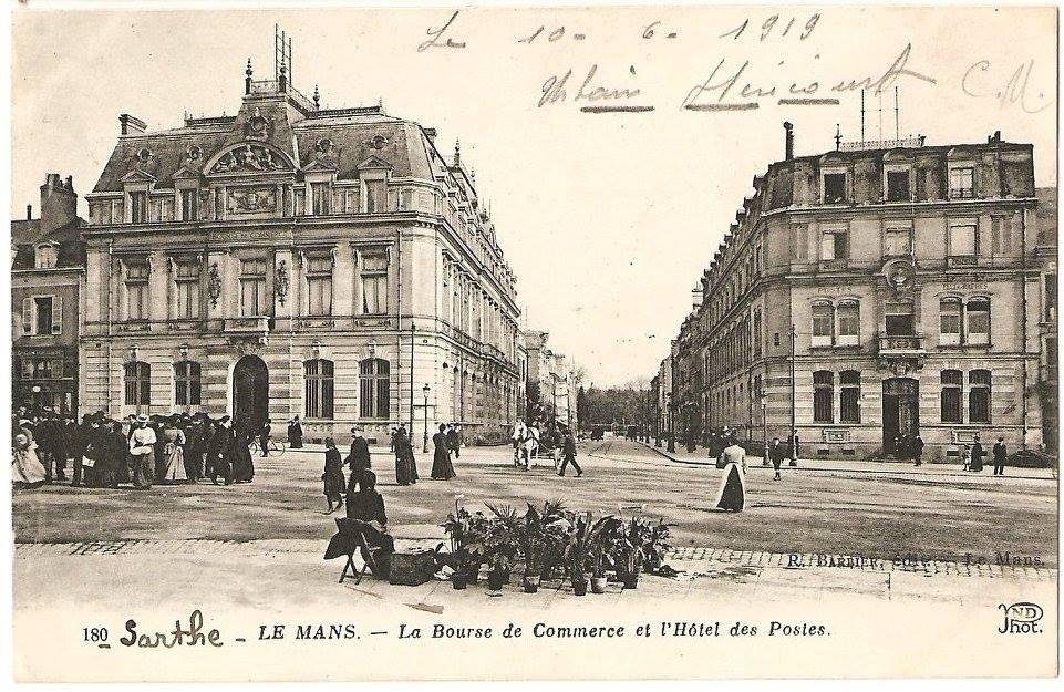 Le Mans - La Bourse de Commerce et l'Hôtel des Postes