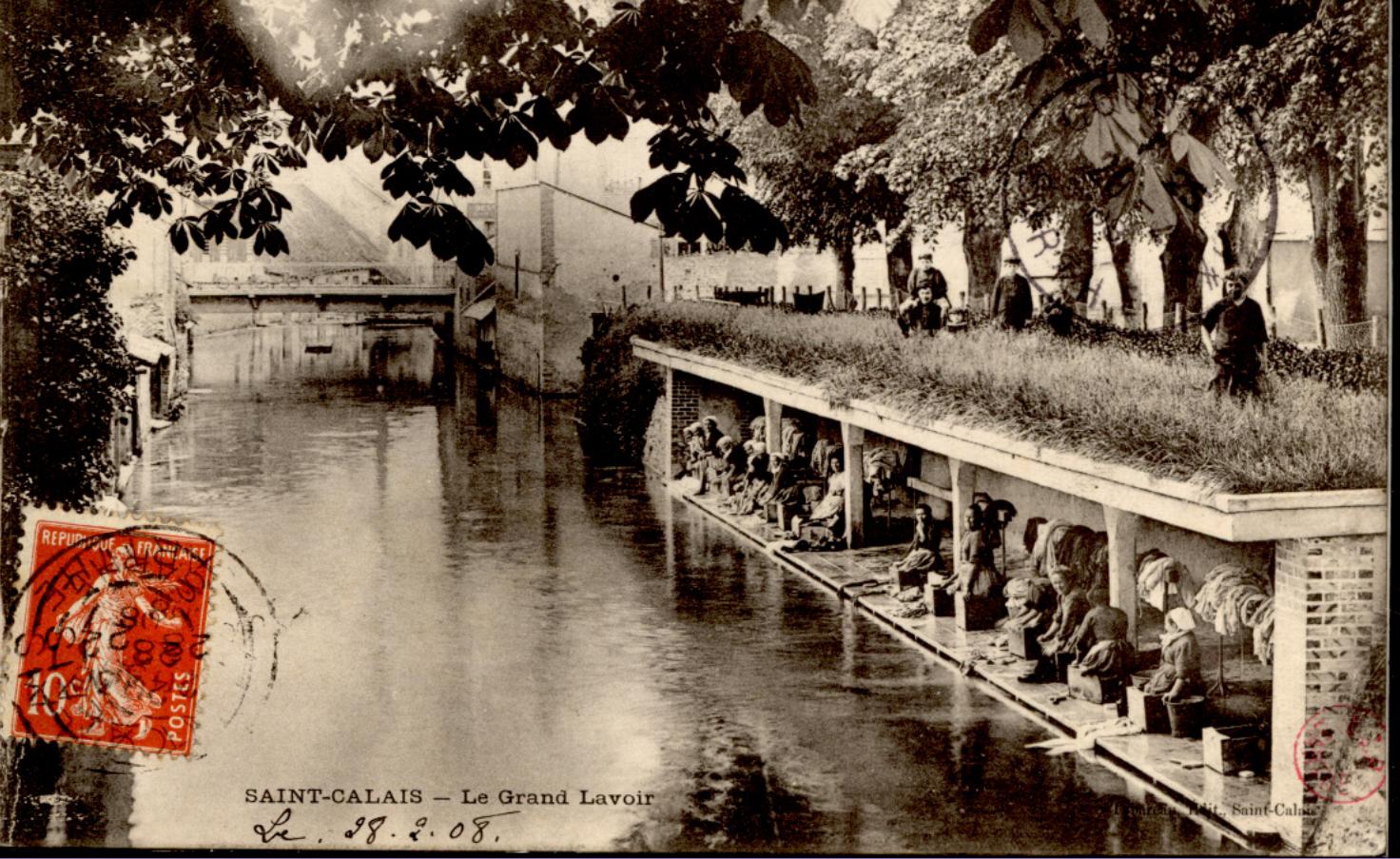 Saint Calais - Le Grand Lavoir