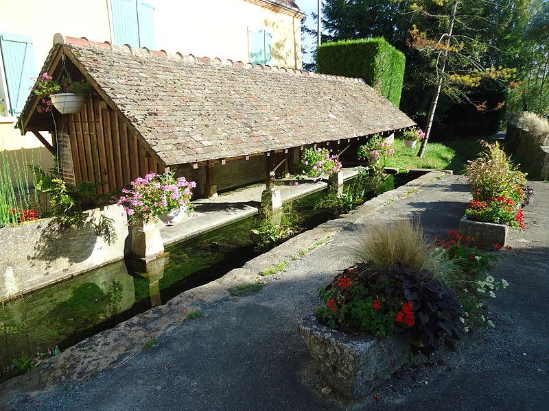 Saint Cosme en Vairais - Lavoir (Source Internet, Gregofhuest)