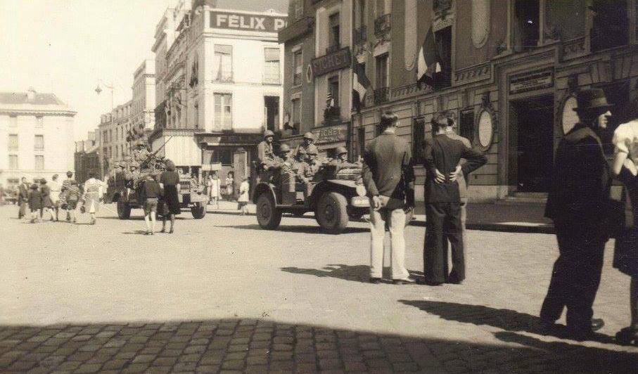 Le Mans - Militaires - Guerre 1939-1945 - La libération - Août 1944 - Vue 01 (Françoise Lebreton)