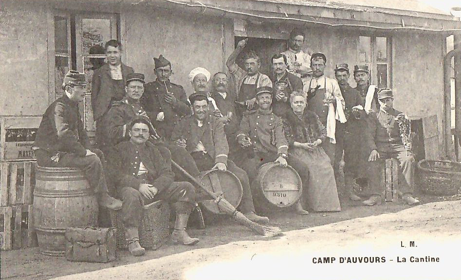 Champagné - Militaires - Casernes - Le camp d'Auvours - La Cantine