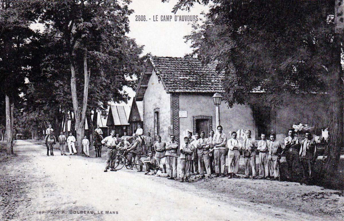 Champagné - Militaires - Casernes - Le camp d'Auvours