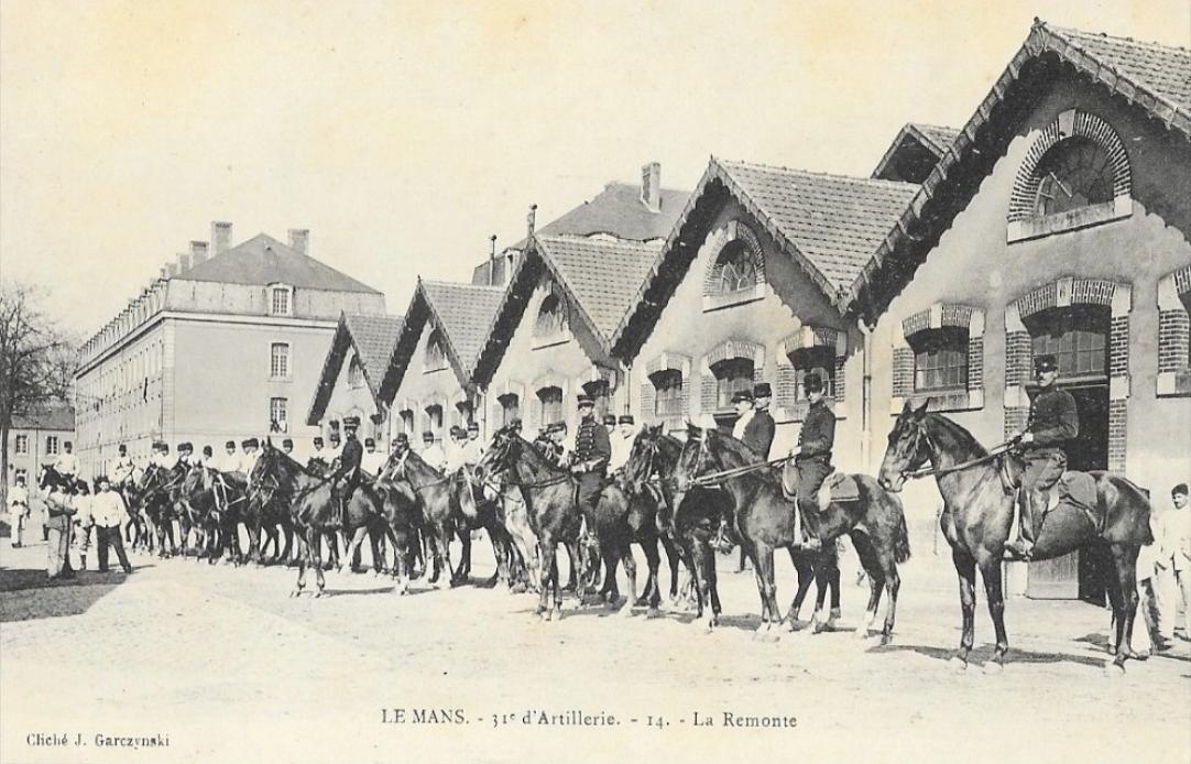 Le Mans - Militaires - Casernes - 31ème d'Artillerie - La Remonte