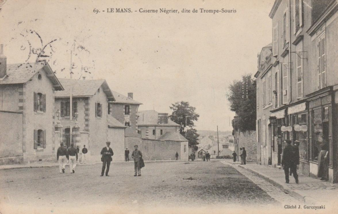 Le Mans - Militaires - Casernes - Caserne Négrier, dite de Trompe-Souris