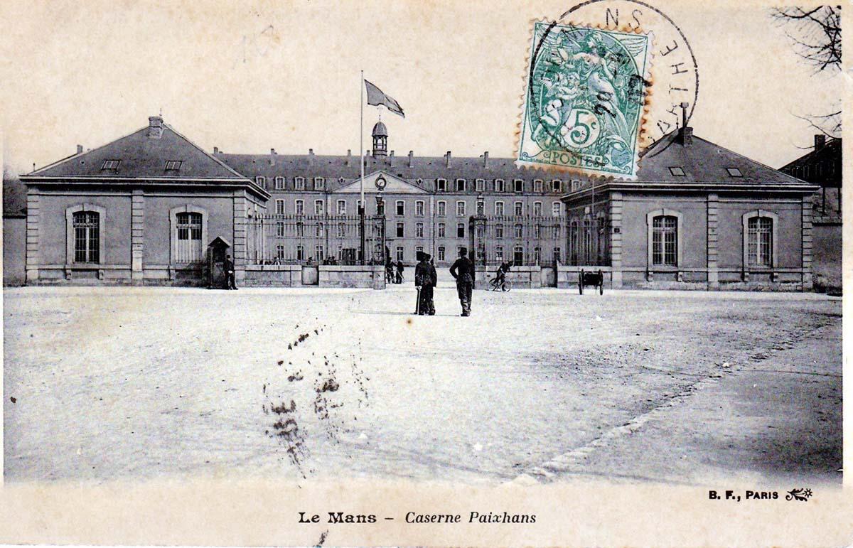 Le Mans - Militaires - Casernes - Caserne Paixhans