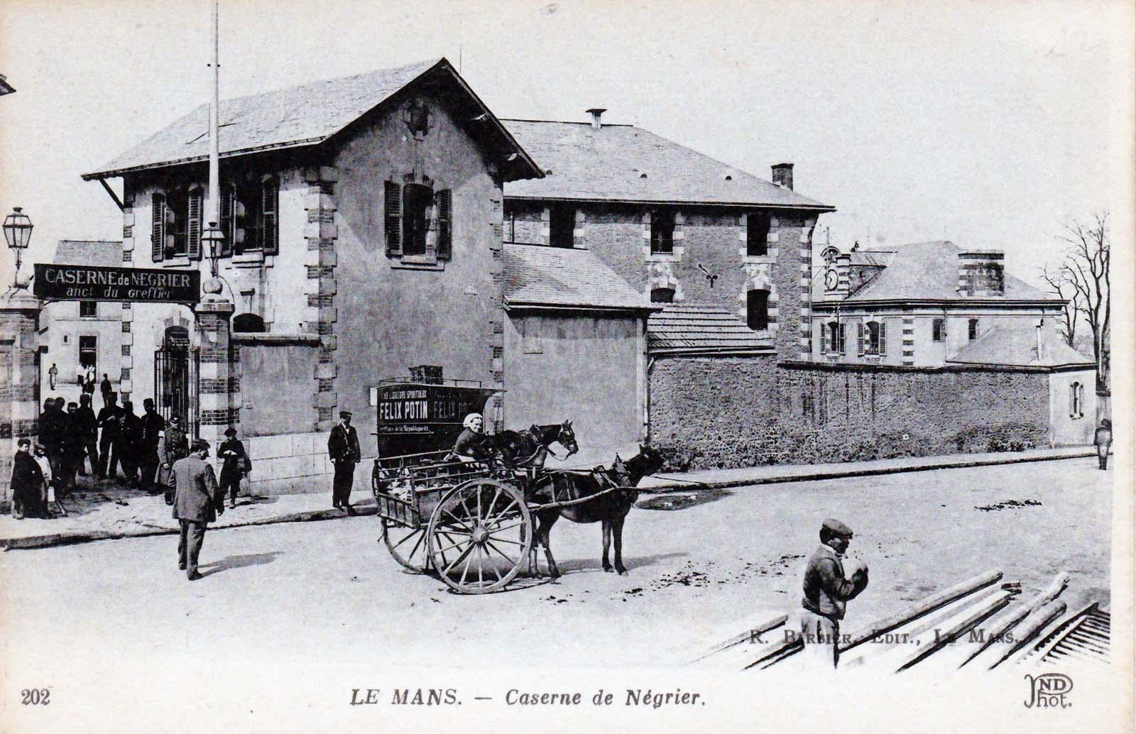 Le Mans - Militaires - Casernes - Caserne de Négrier