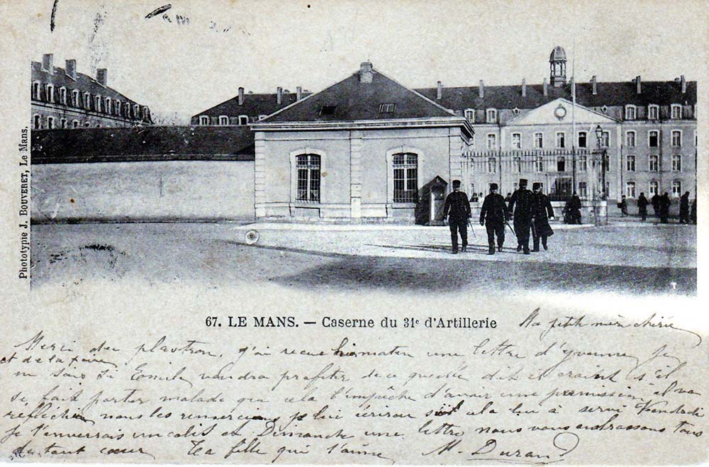 Le Mans - Militaires - Casernes - Caserne du 31ème d'Artillerie