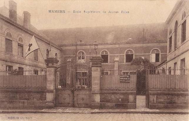 Mamers - Militaires - Hôpitaux - Ecole Supérieure de Jeunes Filles - Annexe de l'Hôpital